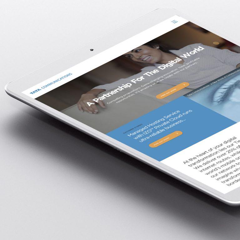 Tata Communications tablet